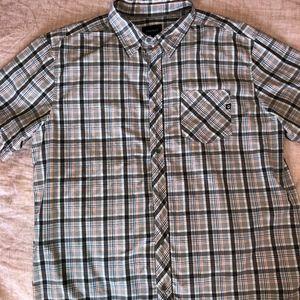 MARMOT - XL Plaid button down light weight shirt